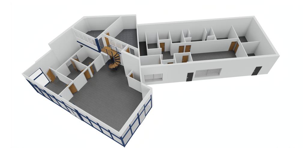 3D visualisation of the new premises | Heath Vets